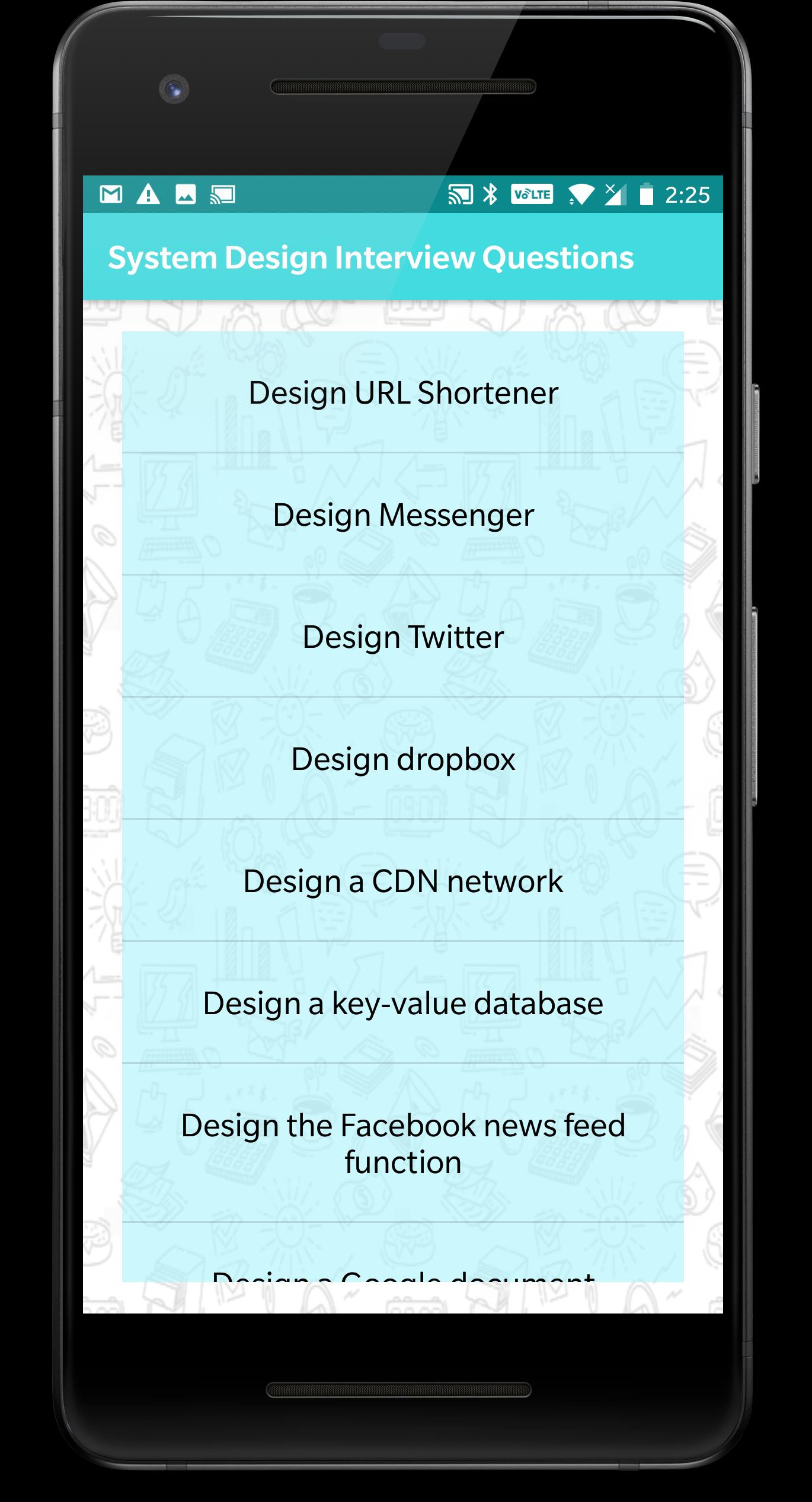 System Design Interview Questions For Android Apk Download