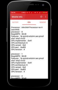 Mobile Info screenshot 7