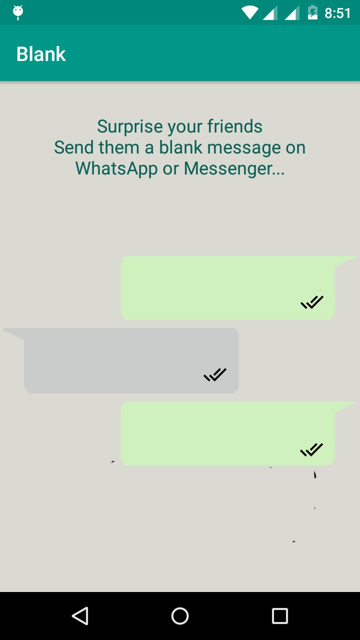 Blank Text Message For Social Apps For Android Apk Download