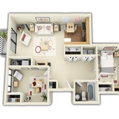 3d Home designs layouts icon