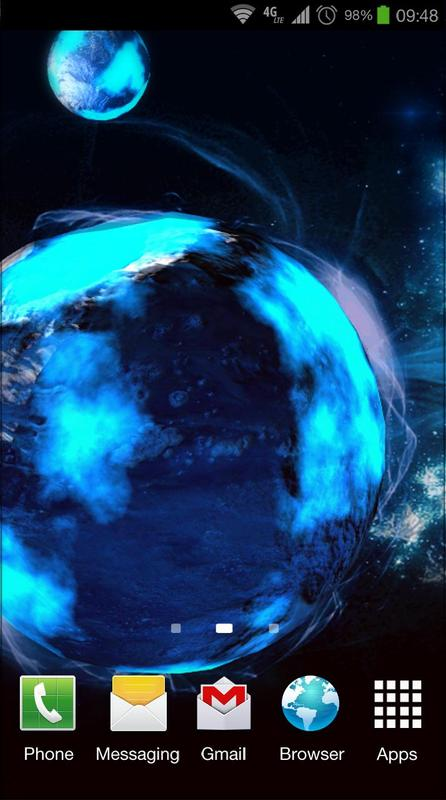 Deep space 3d free lwp for android apk download - Deep space 3 wallpaper engine ...