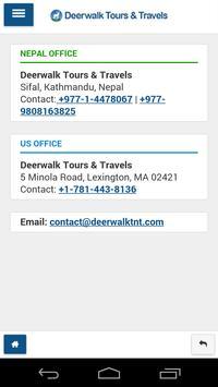 Deerwalk Tours & Travels apk screenshot