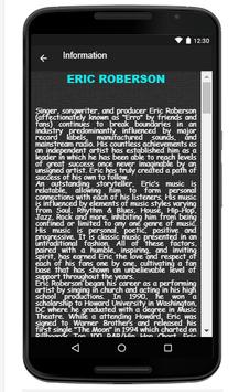 Eric Roberson Song & Lyrics apk screenshot