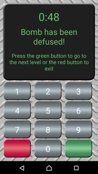 Defuse the Math Bomb apk screenshot