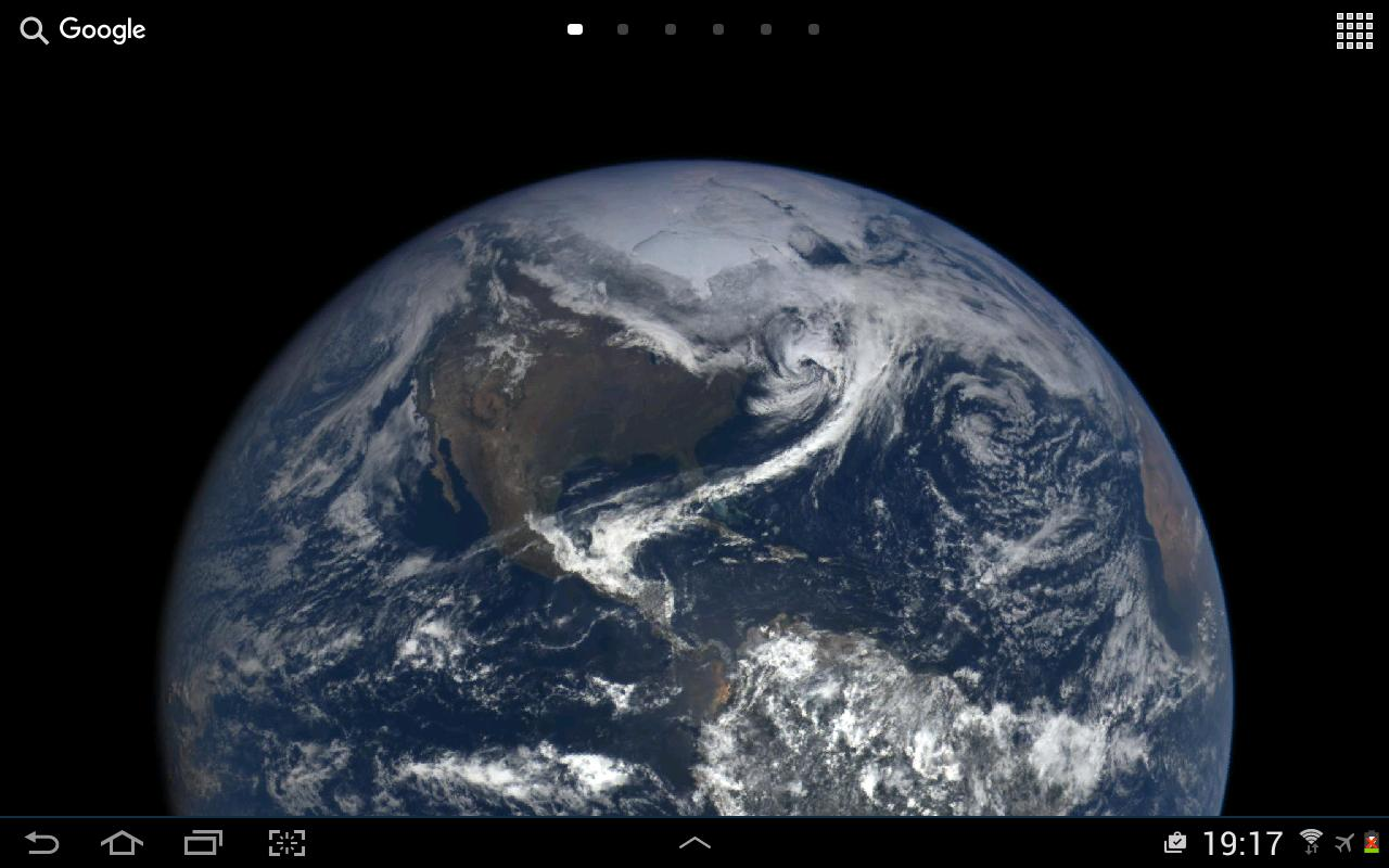 Real Earth Live Wallpaper Screenshot 3