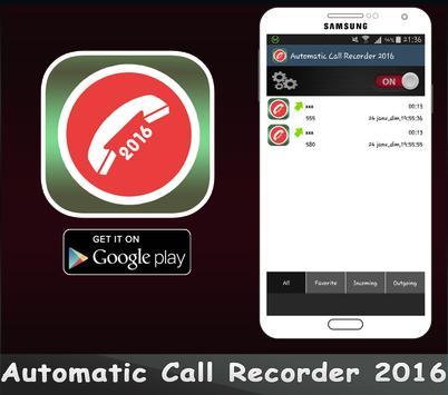 Automatic Call Recorder 2016 apk screenshot