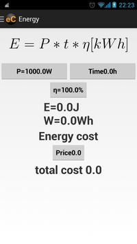 Electro Calculator apk screenshot