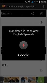 Translator English to Spanish Screenshot 2