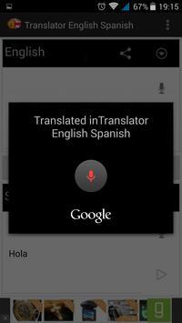 Translate english to spanish screenshot 2