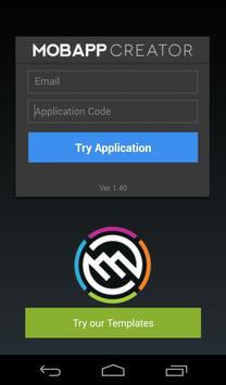 MobApp Creator apk screenshot