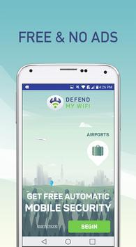 Defend My WiFi - VPN Security screenshot 1