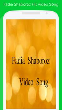 Fadia Shaboroz Video Song poster