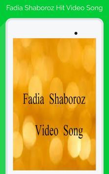 Fadia Shaboroz Video Song apk screenshot