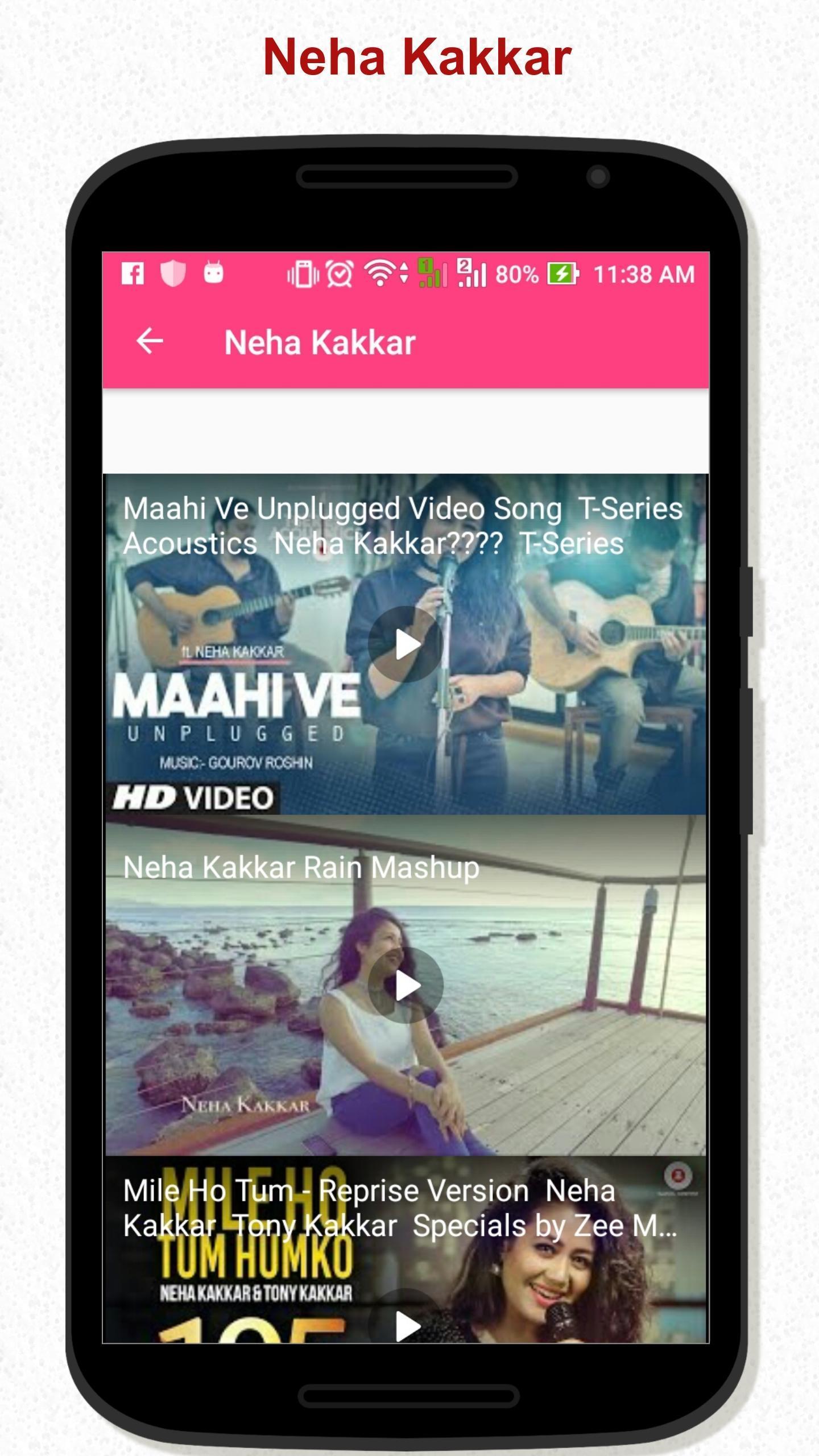 Neha Kakkar video song for Android - APK Download
