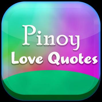 Pinoy Love Quotes poster