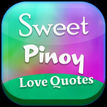Sweet Pinoy Love Quotes poster
