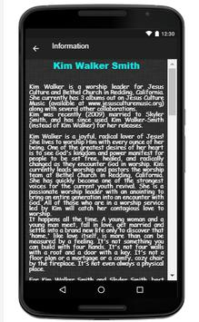 Kim Walker-Smith Song & Lyrics apk screenshot