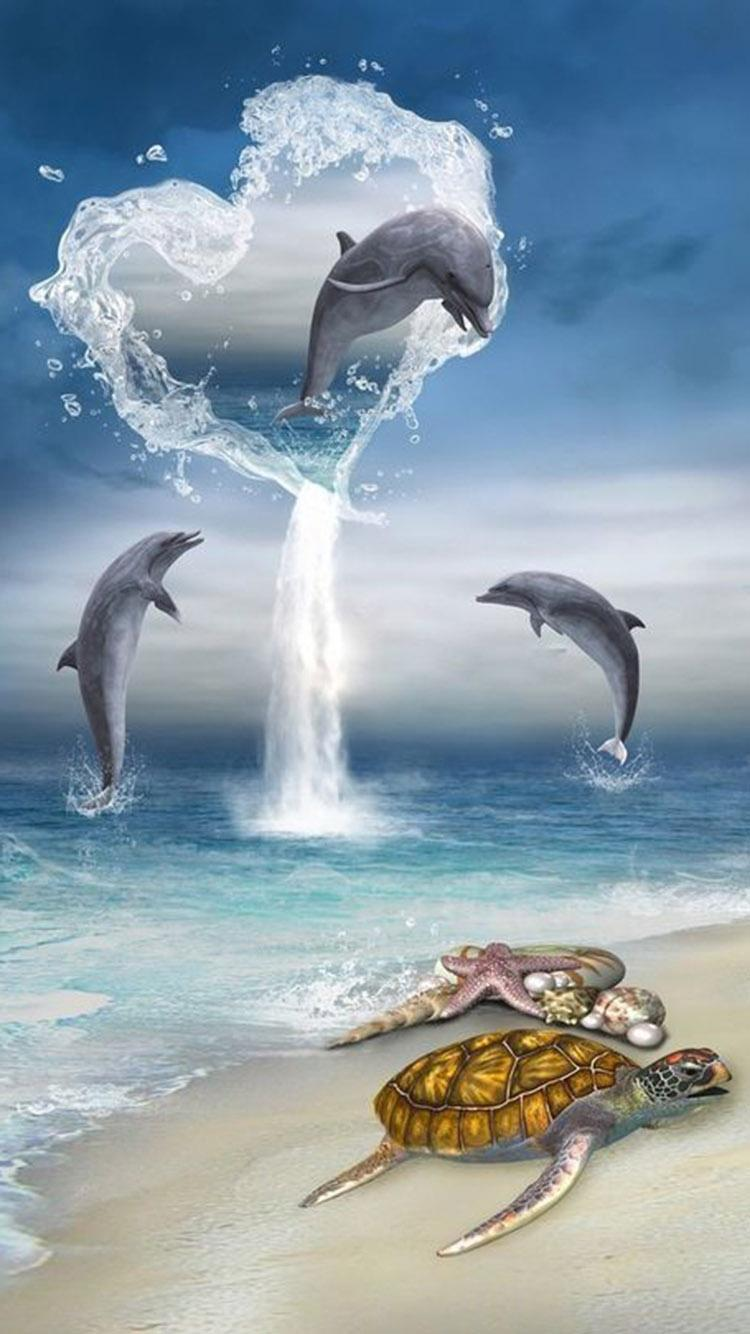 Dolphin Hd Wallpapers 4k For Android Apk Download