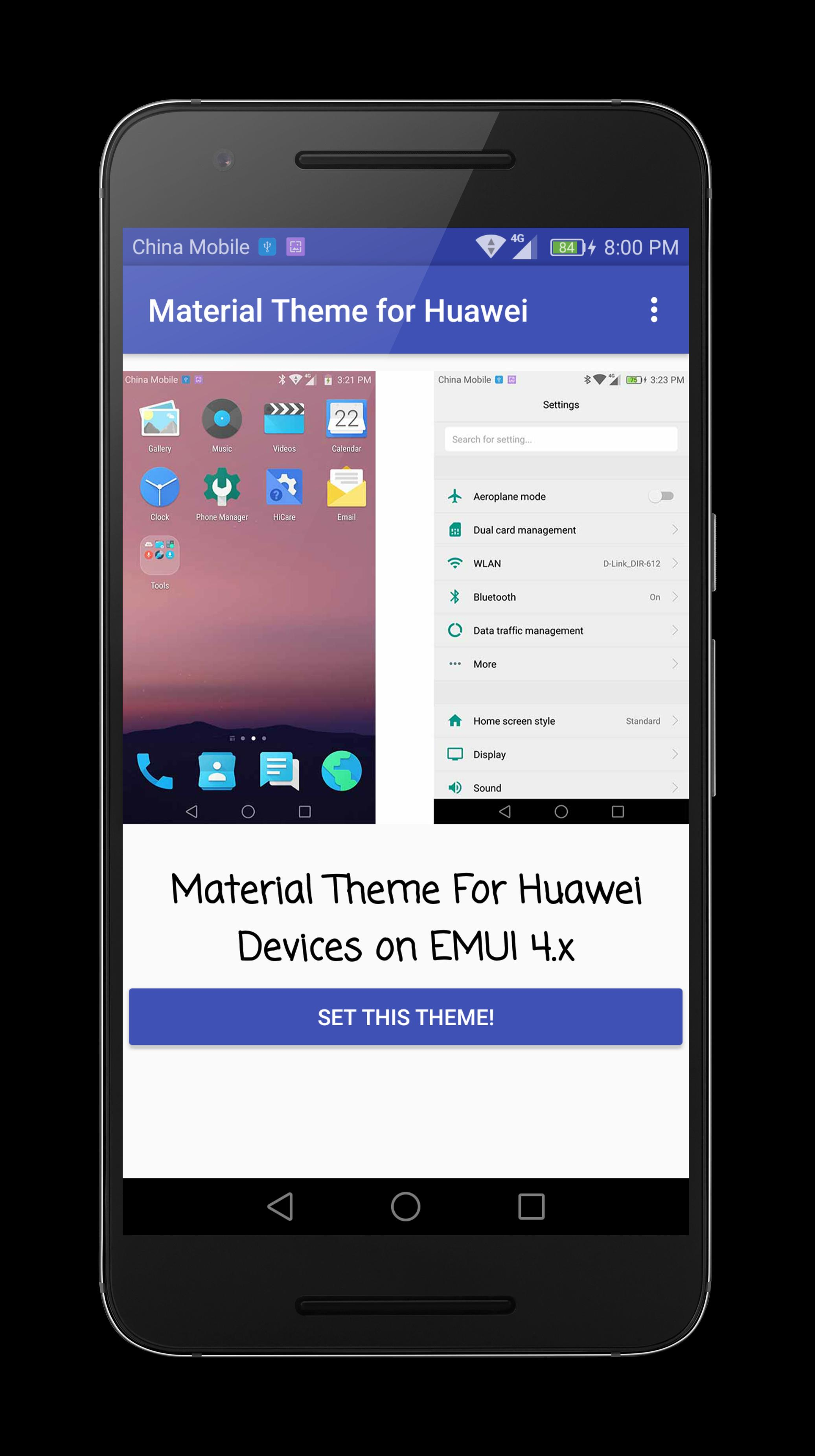 Material Theme for Huawei EMUI for Android - APK Download