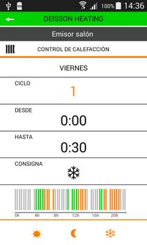 Deisson Heating apk screenshot