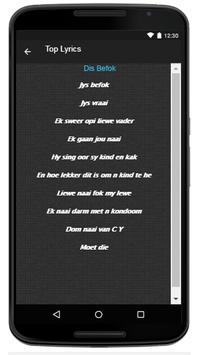 Jack Parow Song & Lyrics apk screenshot