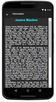 James Maslow Song & Lyrics screenshot 2