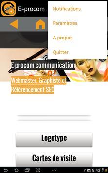 E-procom capture d'écran 4