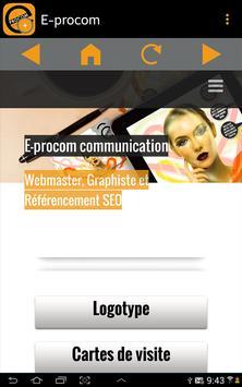 E-procom capture d'écran 7