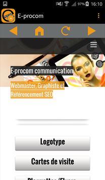 E-procom capture d'écran 8