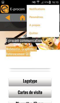 E-procom capture d'écran 9