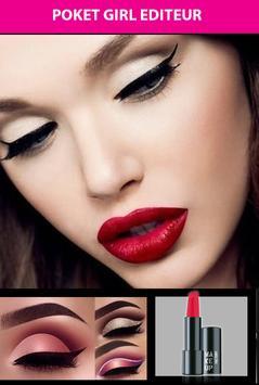 Girl Face Beauty Makeup 2018 screenshot 1