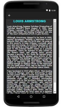 Louis Armstrong - Song & Lyrics screenshot 2