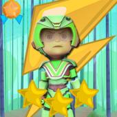 Amazing vir super boy jungle icon