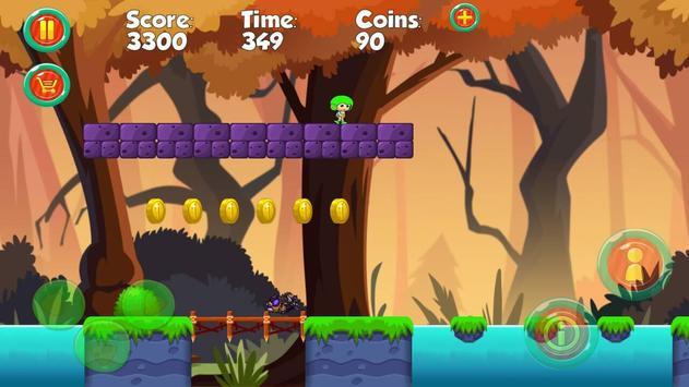 Amazing vir super boy jungle screenshot 1