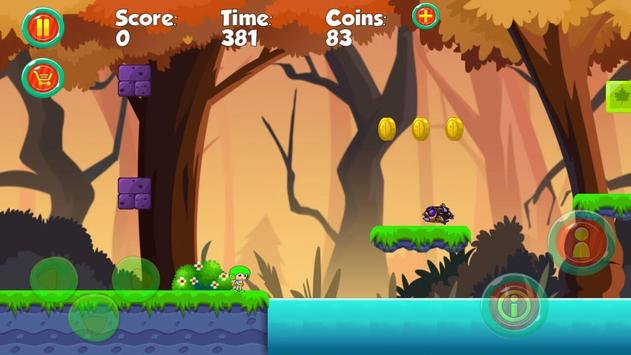 Amazing vir super boy jungle screenshot 2