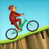 Curious Biking Monkey icon