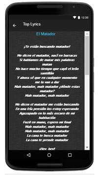 Los Fabulosos Cadillacs Song & Lyrics apk screenshot