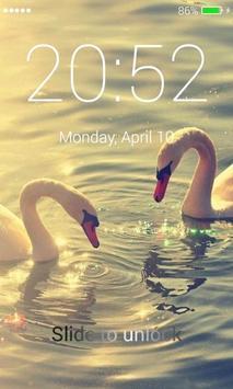 Swans Lock Screen screenshot 4