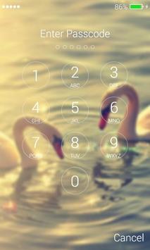 Swans Lock Screen screenshot 5