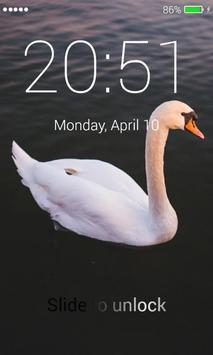 Swans Lock Screen poster