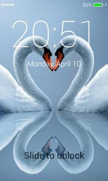 Swans Lock Screen screenshot 1