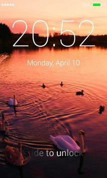 Swans Lock Screen screenshot 2
