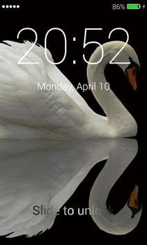 Swans Lock Screen screenshot 3