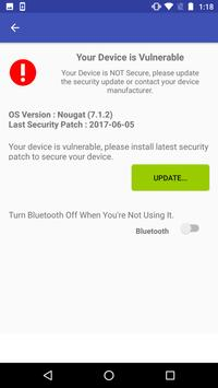 BlueBorne Security - Scan & check for patches apk screenshot