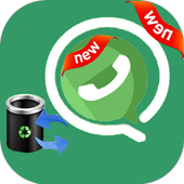 Recover Deleted Messages & images For whatsap icon