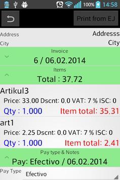 Delfi Panama Order screenshot 4