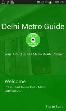 Delhi Metro Guide poster