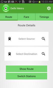 Delhi Metro Guide screenshot 1