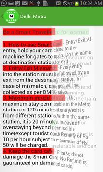 Delhi Metro Guide screenshot 3