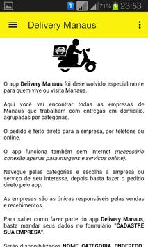 DELIVERY MANAUS screenshot 4
